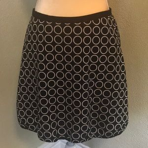 The Limited Petite Lined Print Skirt Size 4